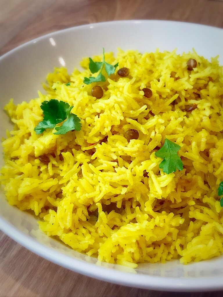Rice cooked with Magic Majadra