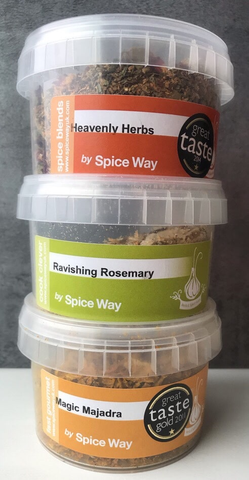 Image of spice jars by Spiceways